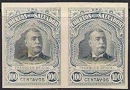 1906 | Pres. Pedro José Escalón 100c (sin perforaciones)
