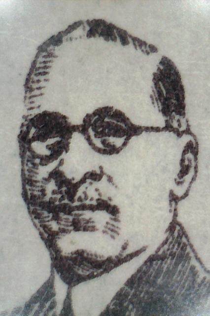Pio Romero Bosque 1929 (Litografía)