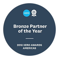 55621 - 2018 Xero Partner Awards - Badge