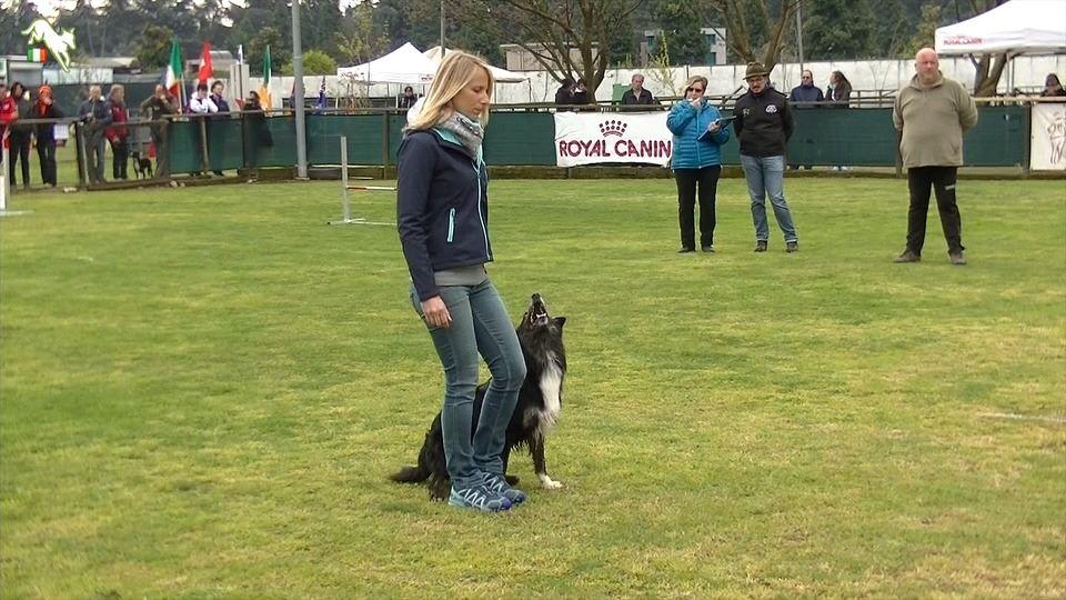 Valentina Balli con Mind the dog Lycan