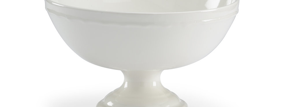 White Pedestal Centerpiece