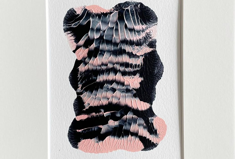 """""""Navy and Pink"""" 2  8"""" x 10"""""""