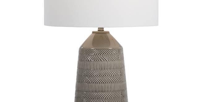 Herringbone Table Lamp