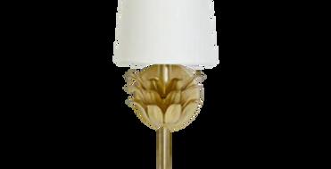Gold Bloom Sconce