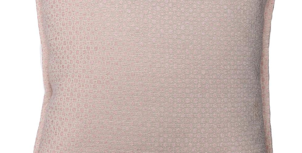 Pink Small Textured Pillow