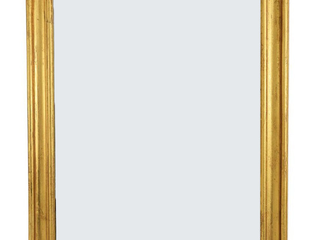 Gold Leaf Louis Phillipe Mirror - Medium