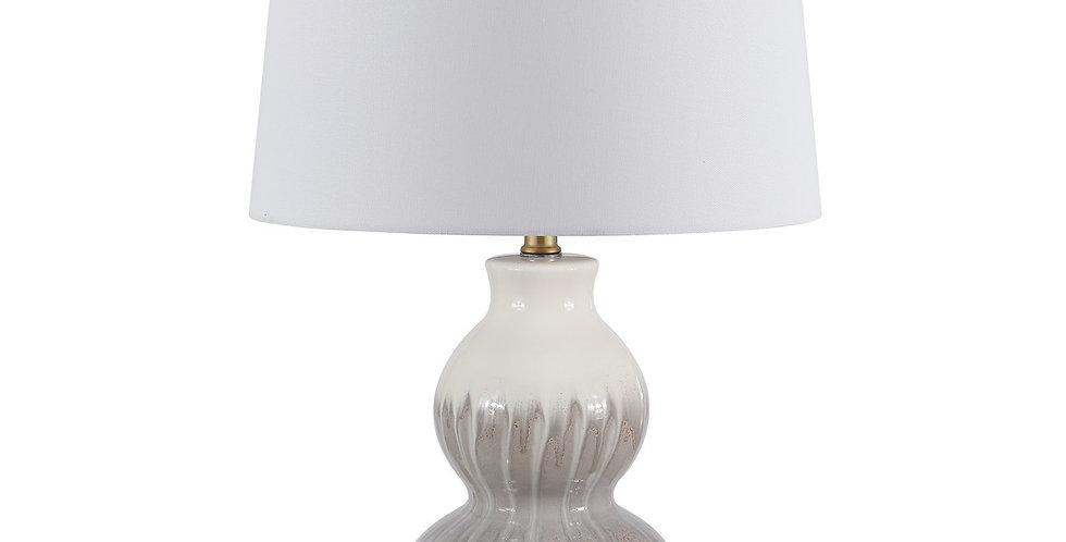 Pair - Grey Drip Lamp