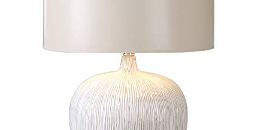 Textured Ivory Lamp