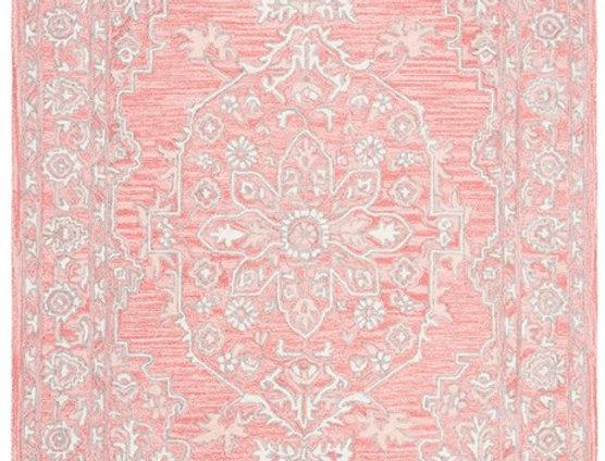 Pink & Ivory Rug