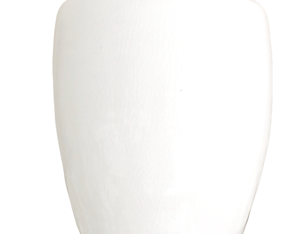White French Jar with Lid