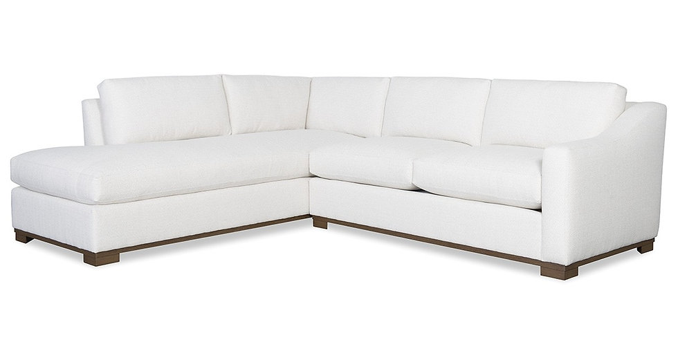 Sloped Arm Sectional