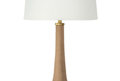 Hand Wrapped Rope Table Lamp