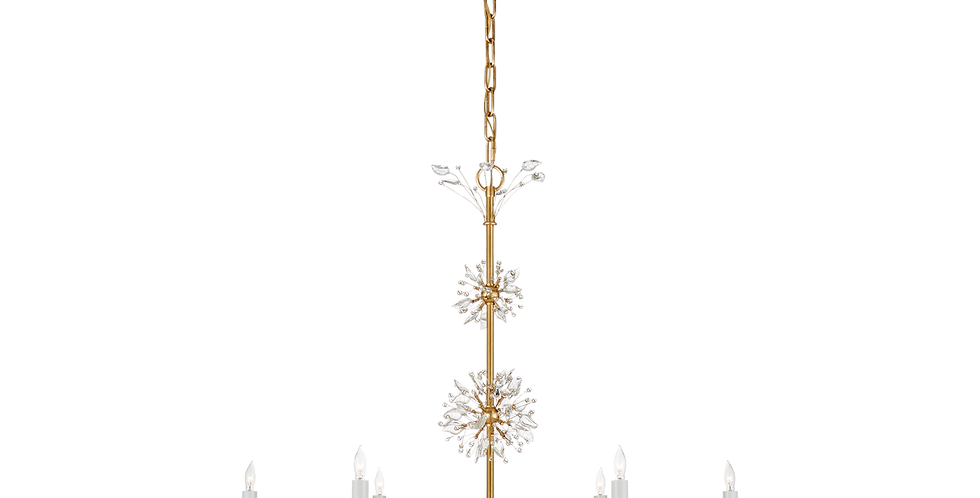 Crystal Burst Chandelier
