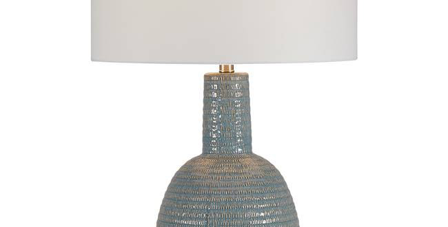 Organic Sea Blue Texture Lamp