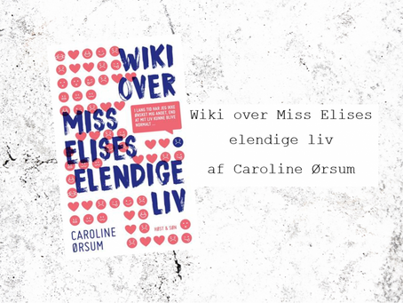 Wiki over Miss Elises elendige liv