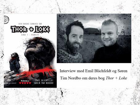 Interview med Emil Blichfeldt og Søren Tim Nordbo