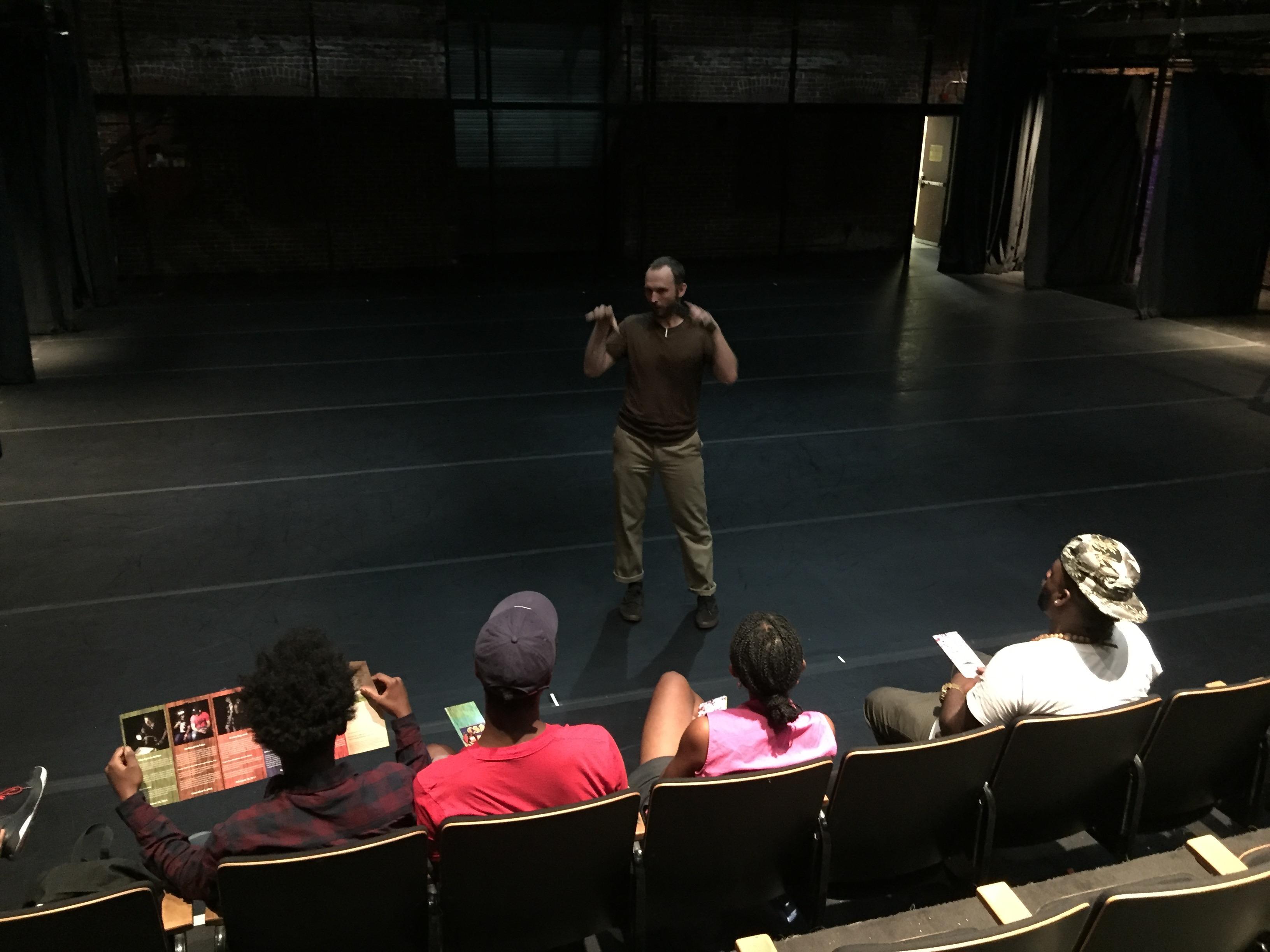 New Hazlett Theater Tour