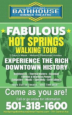 Hot Springs Walking Tours Downtown