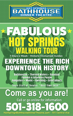 Hot Springs Walking Tours Downtown