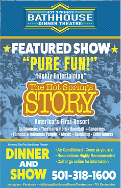 The Hot Springs Story show attraction