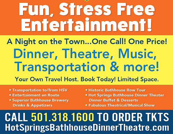 Hot Springs Village Excursions