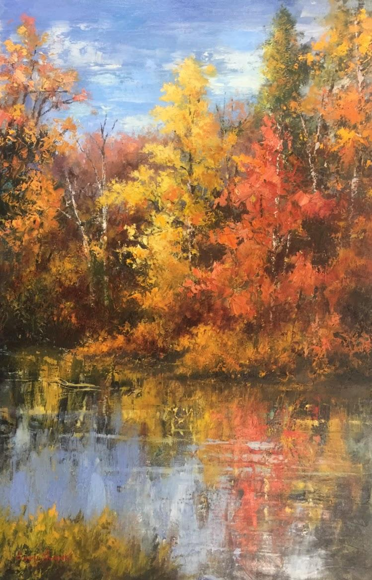 GS Autumn Tapestry 24x36 oil 5800.