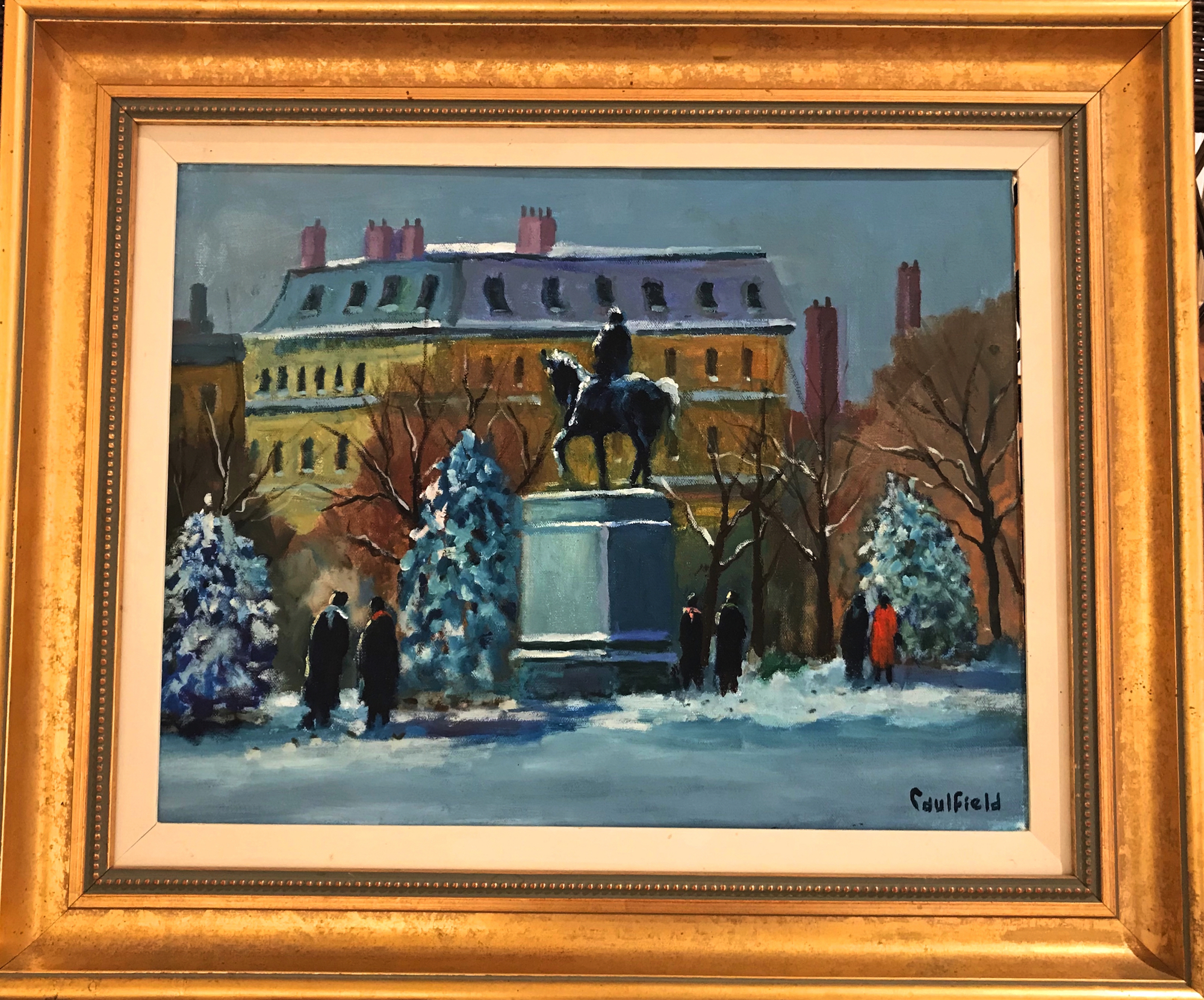 Boston Commons 14x18 $5500