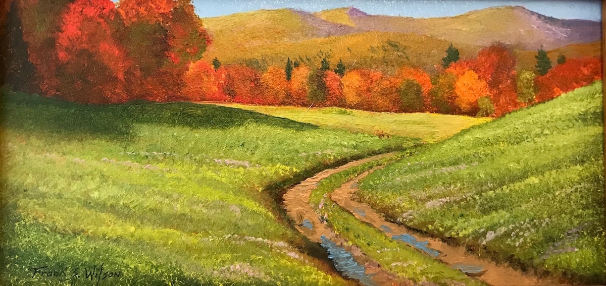 FW Pasture Road 4_ x 8_ Oil $220