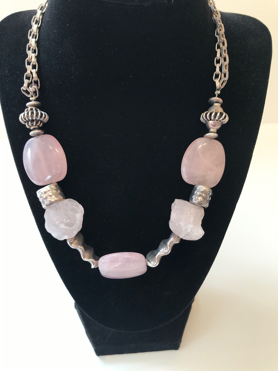 """#2062B Necklace:  18"""" $185"""