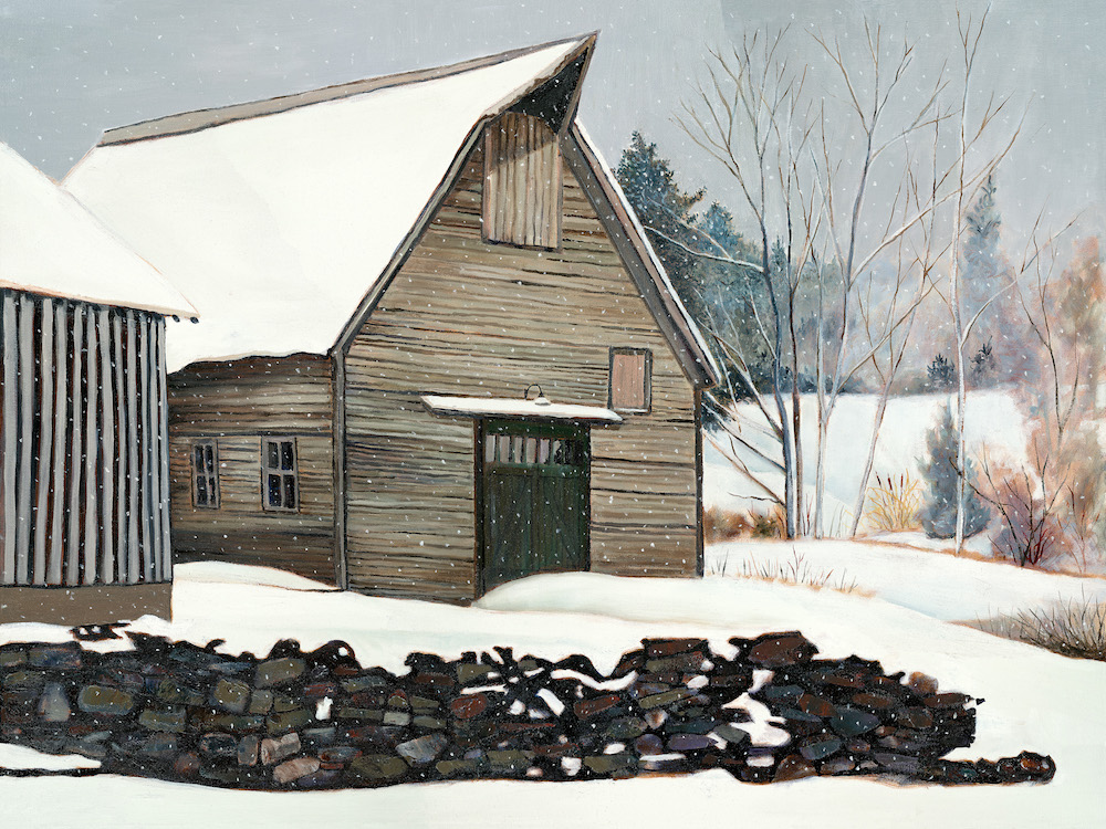 "Snow Day 30"" x 40"" Oil Retail $10,800  $8,700"