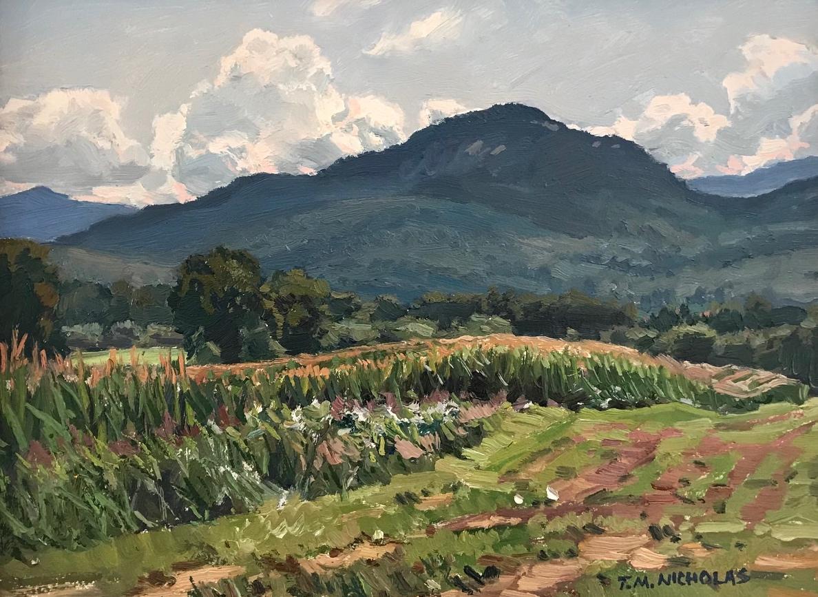 August Corn 9x12 $2500