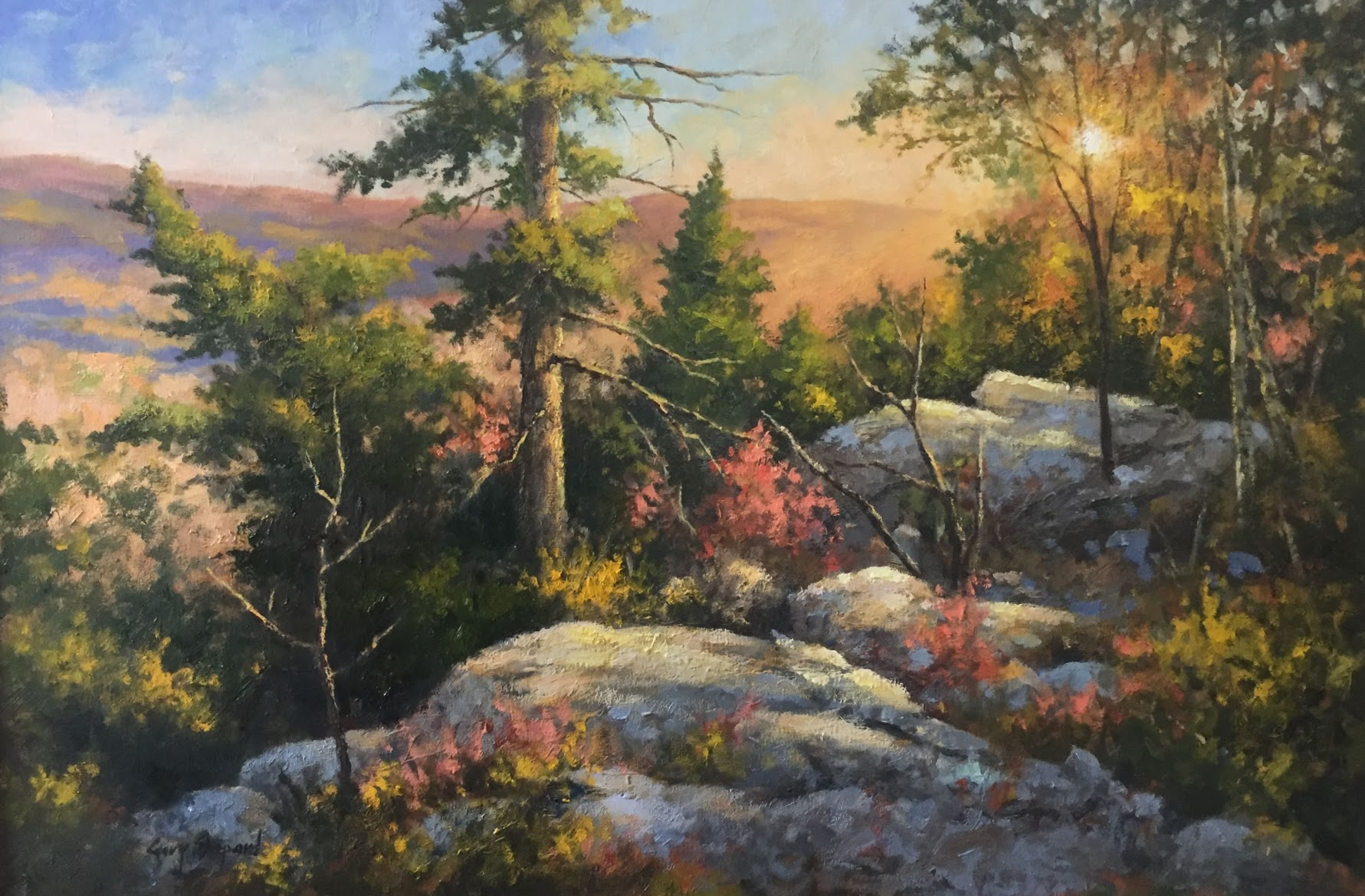 GS Before Dusk 24_x 36_ oil $5,800.