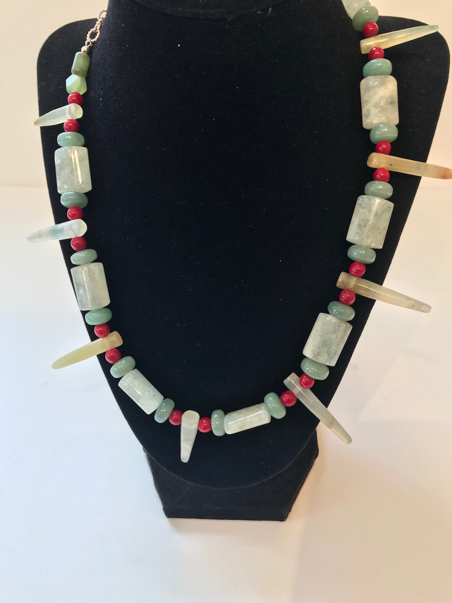 """#874 Necklace:  18""""  $425"""