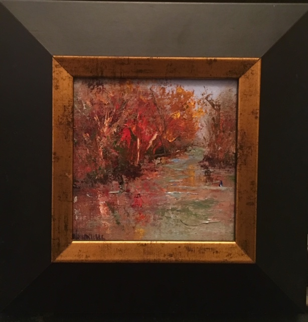 MW Autumn's Dance 6 x 6 oil  $475