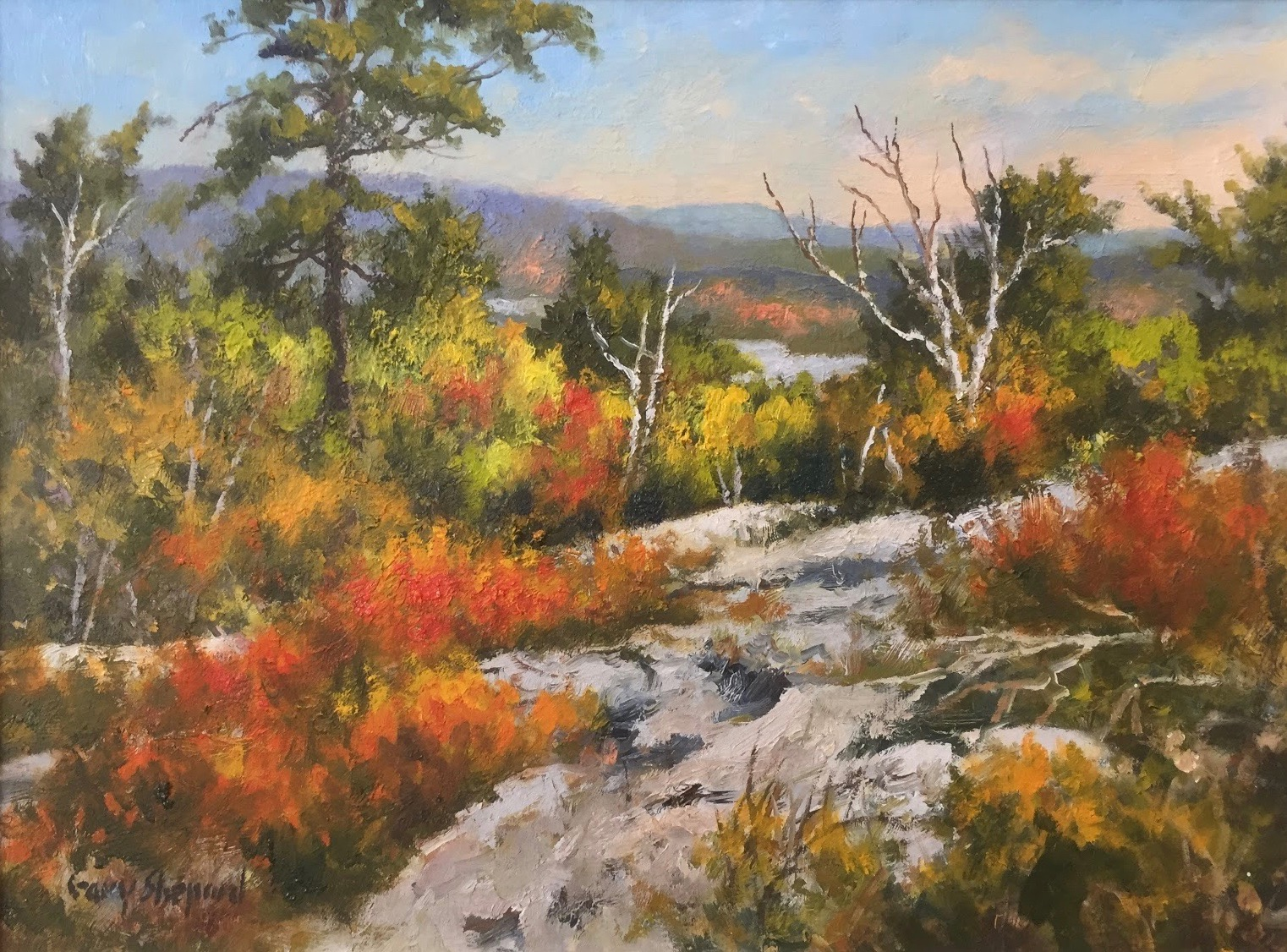 GS Wapack View 12x16 oil 1800.