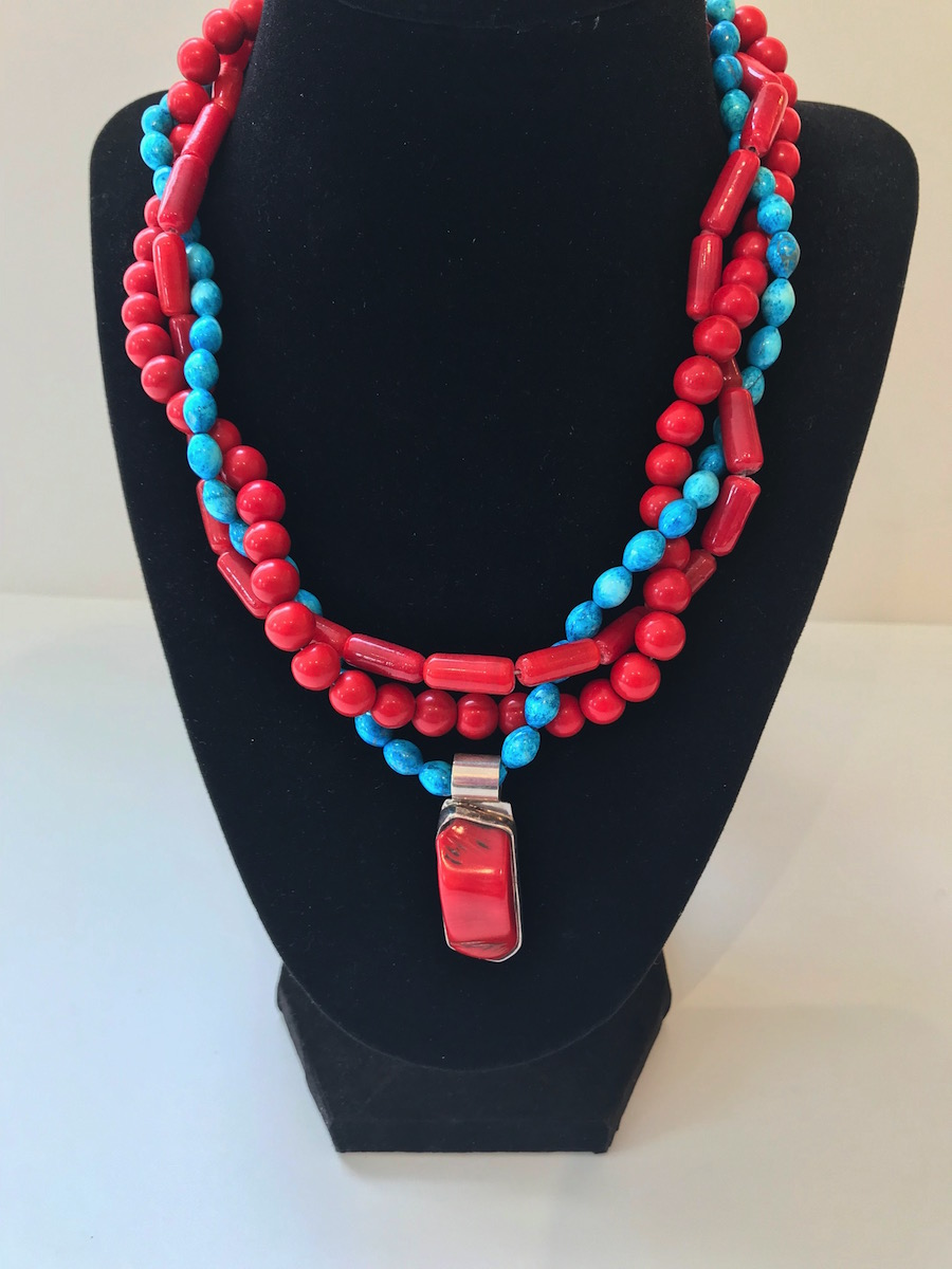 """#20150 Necklace:  18""""  $265"""