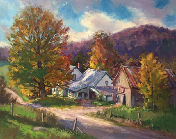 ET The Farm House 24_ x 30_ Oil $4800