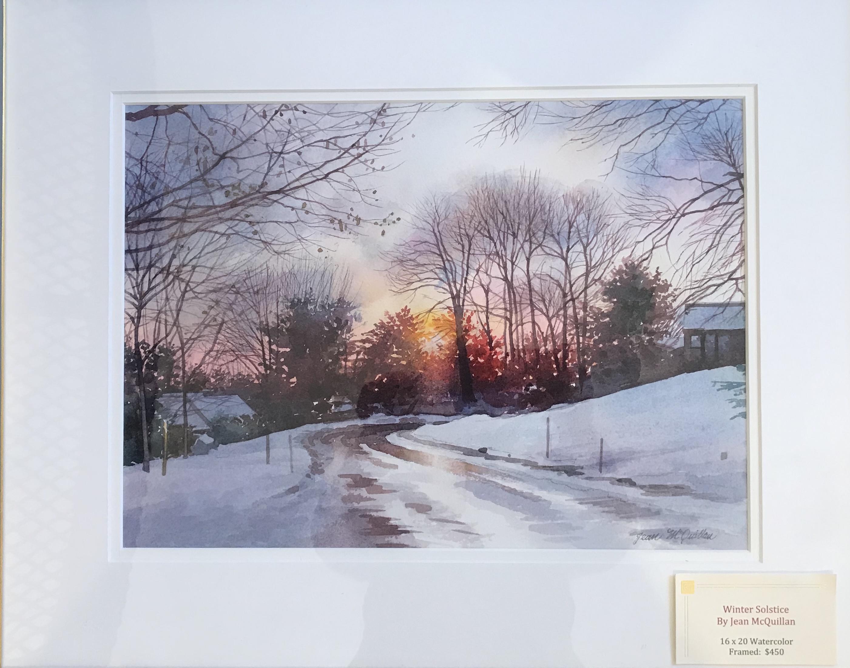 Winter Solstice 16_ x 20_ Watercolor
