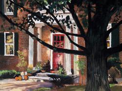 "Autumns Bright Light 12"" x 16"" Oil Retail $2,000  Online $1,600"