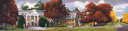 """Tuck at Dartmouth 12"""" x 48"""" Oil Retail $6,000  Online $4,200"""