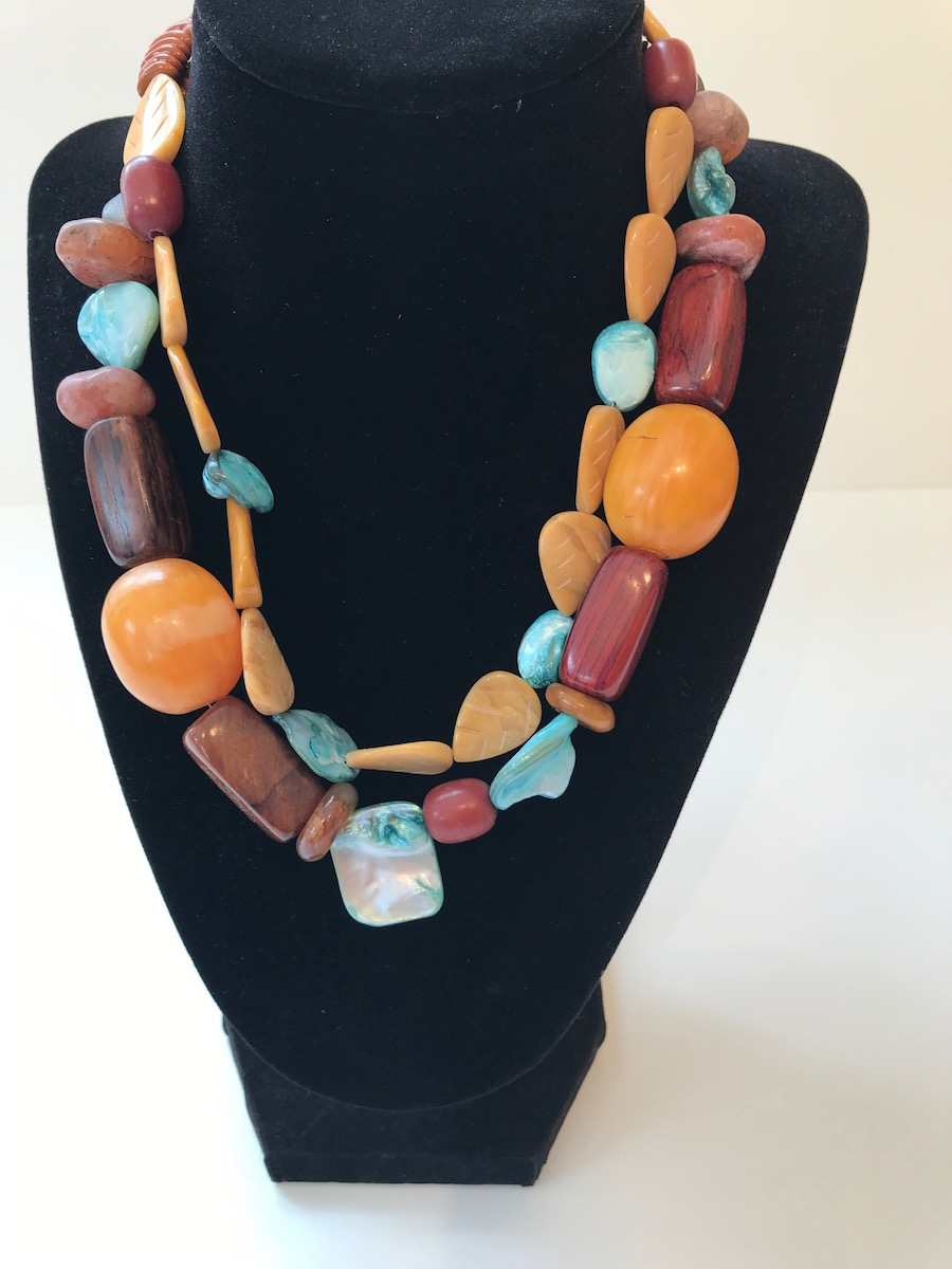 """20159 Necklace:  17""""  $225"""