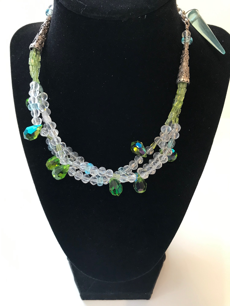 """#2079 Necklace:  17"""" $150"""