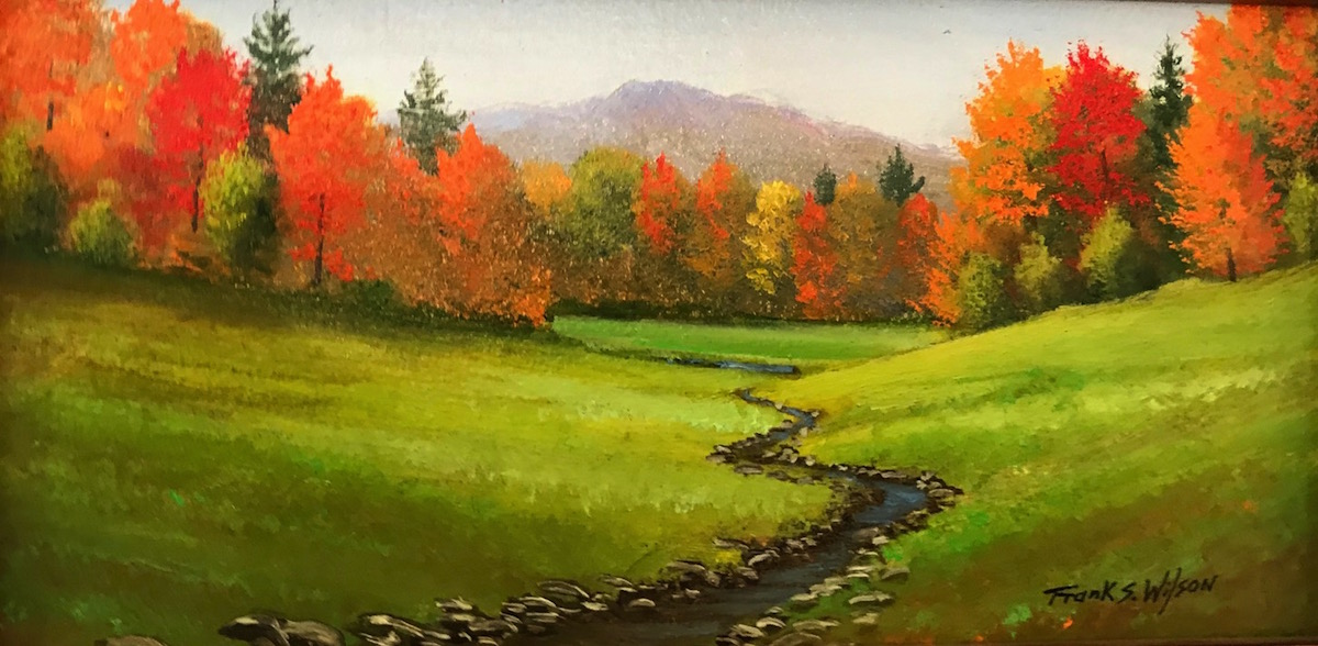FW Meadow Stream 4_ x 8_ Oil $220