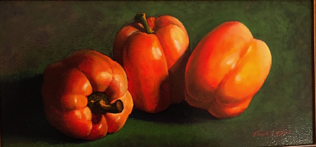 FW Peppers 6_ x 12_ Oil $495