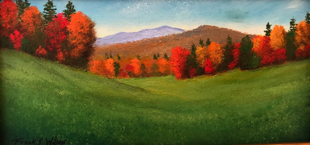 FW Vermont Meadows 4_ x 8_ Oil $220