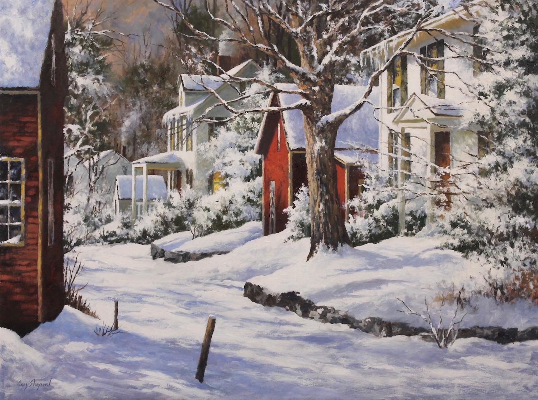 Fresh Snow 30_ x 40_ Oil $8000