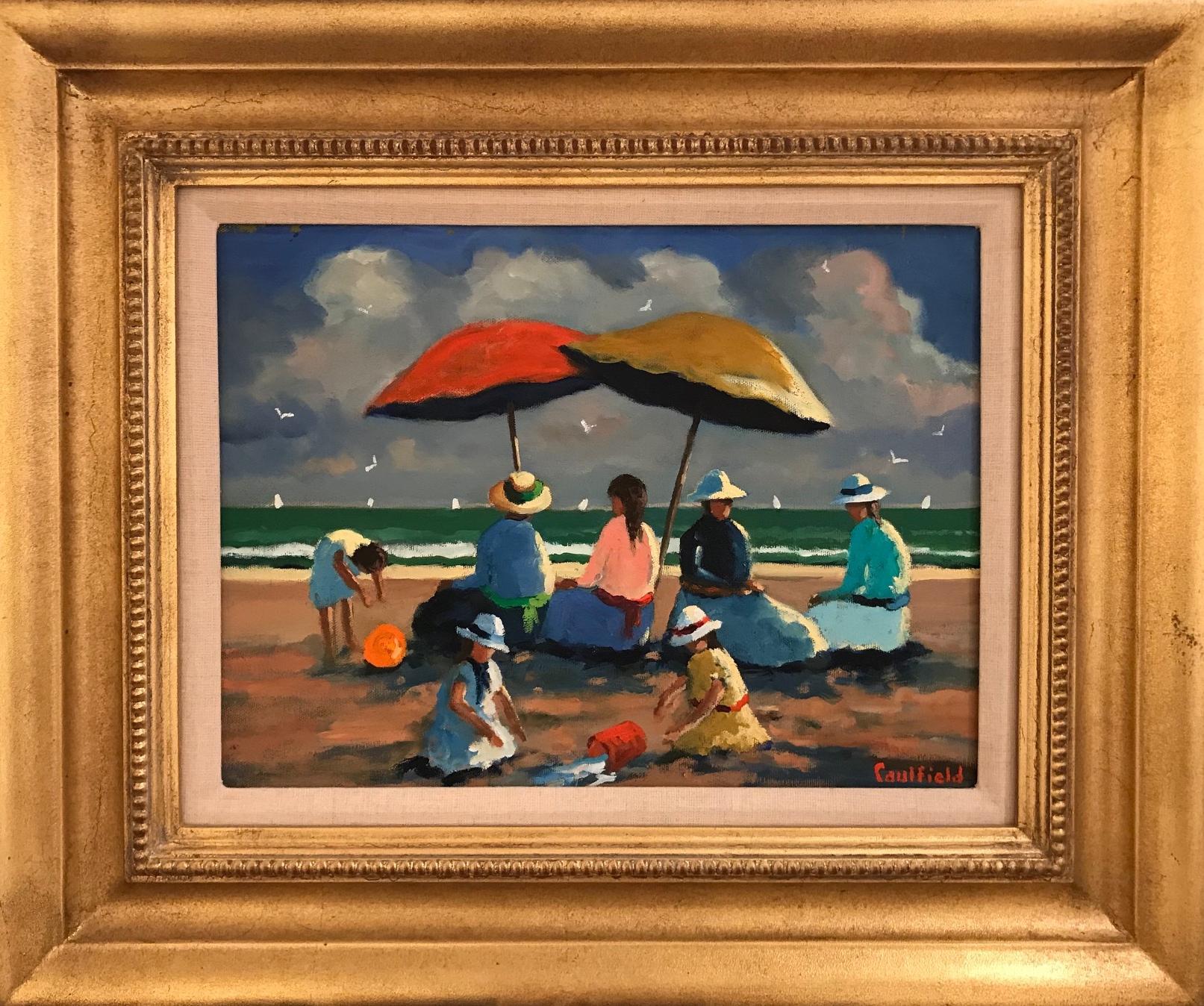 Sunday At The Beach 12x16 $4200