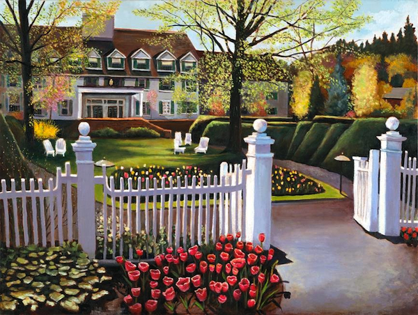 "At The Gates of Spring 30"" x 40"" Oil Retail $12,000  Online $8,400"
