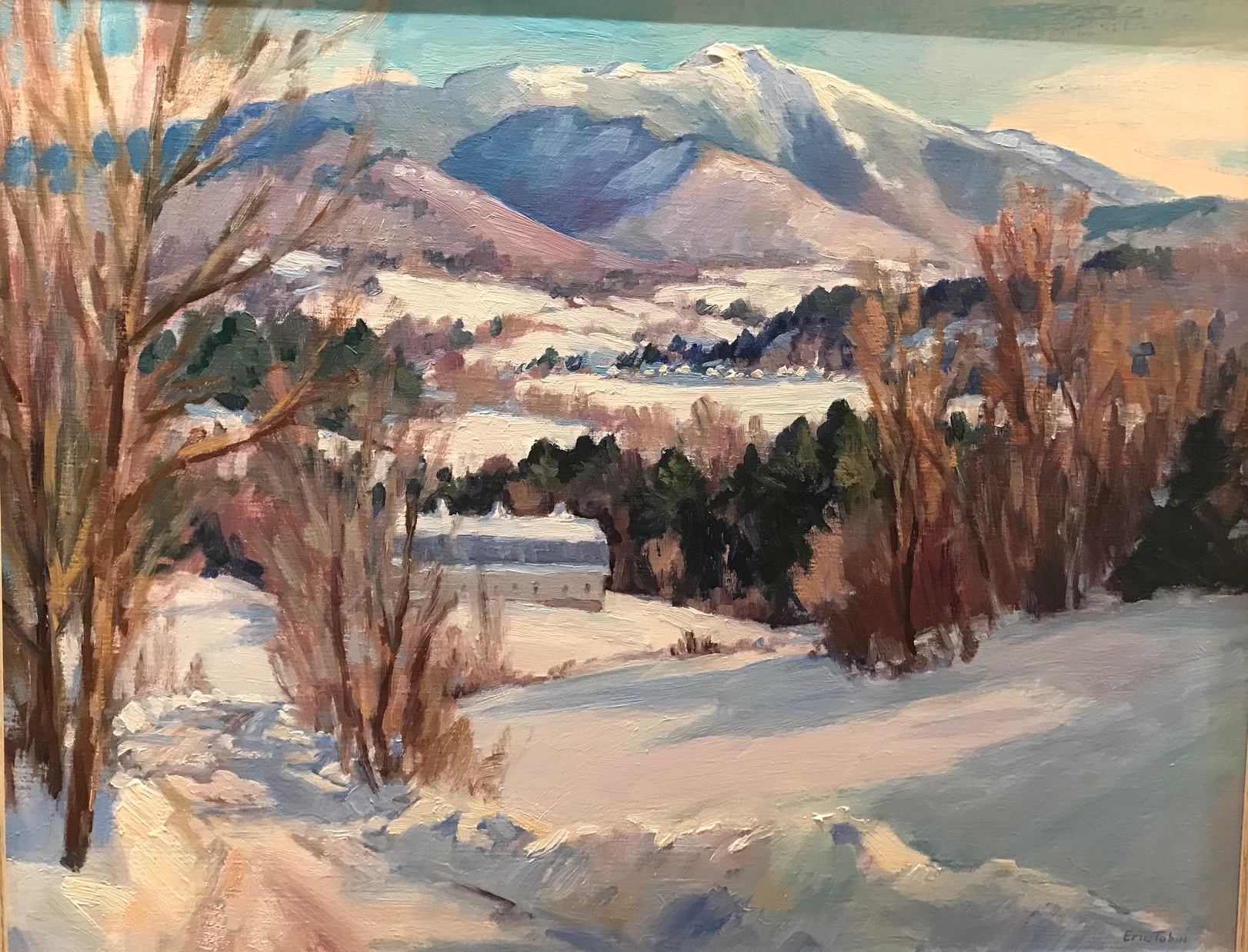 ET Mountain View 24x30 $4800
