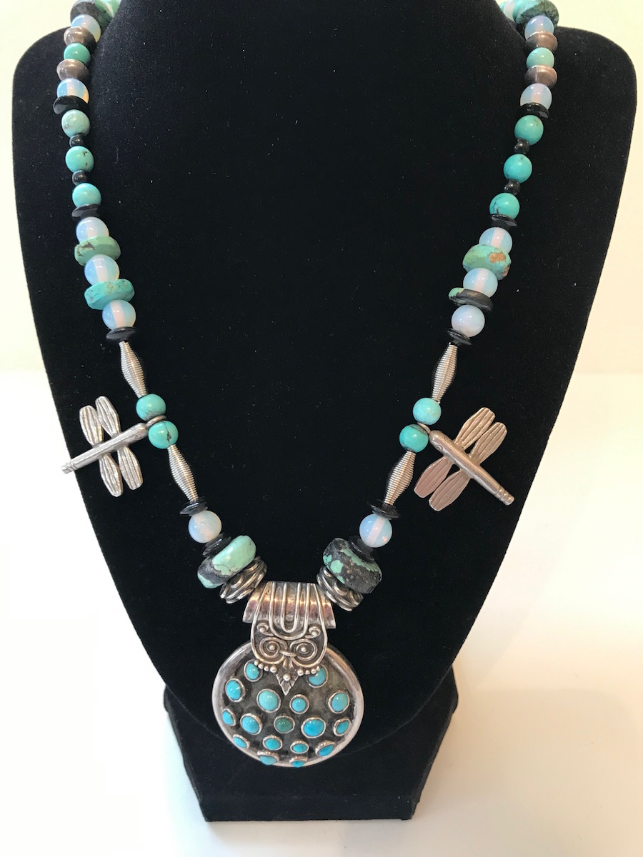 """#2038B Necklace:  22""""  $250"""